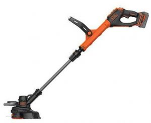 black+decker lste523 weed trimmer, cordless weed trimmer, string trimmer