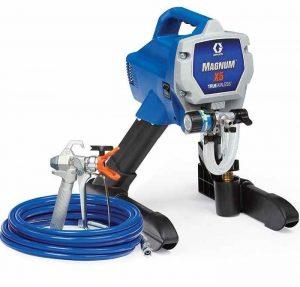 graco magnum X5 airless paint sprayer, top 10 best airless paint sprayers, how to choose an airless paint sprayer, electric paint sprayer