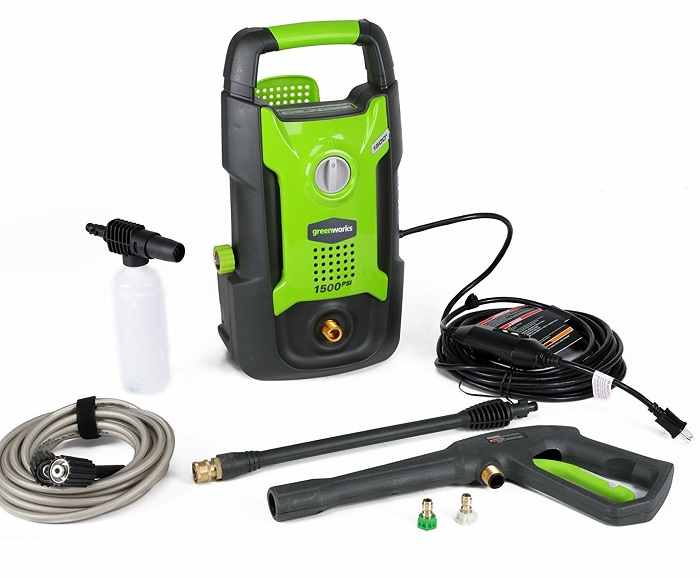 greenworks gpw1501 electric pressure washer, top 10 best pressure washer, best electric pressure washer, how to choose a pressure washer, portable pressure washer