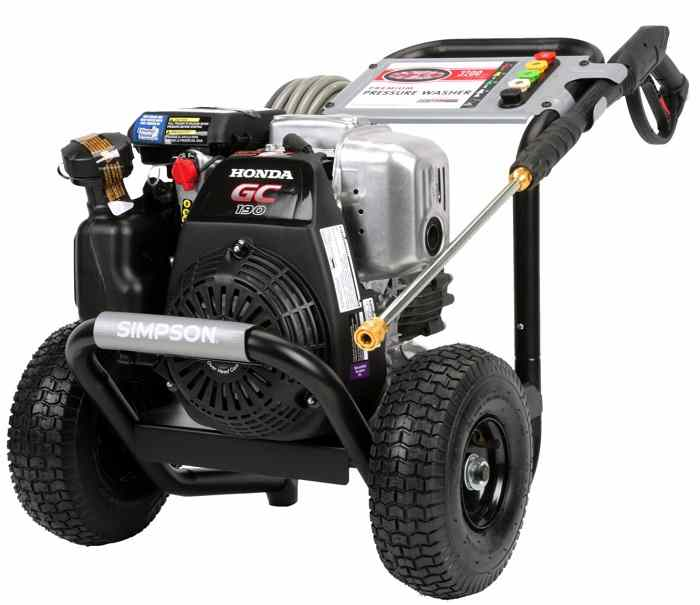 simpson msh3125-s pressure washer, top 10 best pressure washer, how to choose a pressure washer, gas pressure washer, professional pressure washer, commercial pressure washer