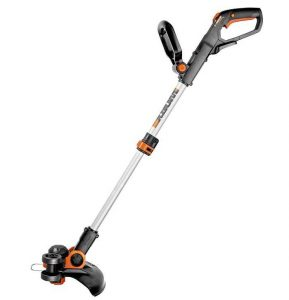 worx wg163 weed trimmer, cordless weed trimmer, weed eater string trimmer, edger