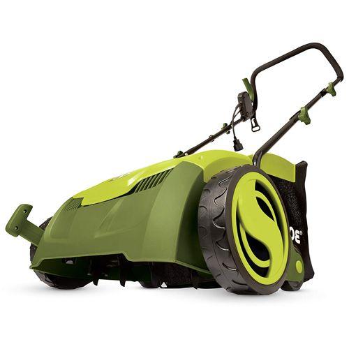 Sun Joe AJ801E Lawn Dethatcher, best lawn dethatcher, how to remove thatch from lawn